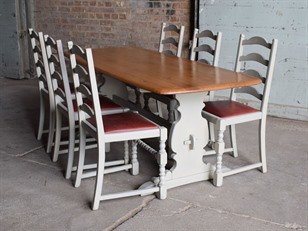 Painted Ercol Table & Chairs