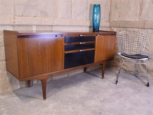 Tola and Black Teak Sideboard