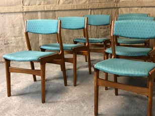 Dyrlund Teak Dining Chairs